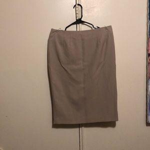 Tan set skirt